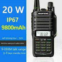 BaoFeng 20W UV-9R Plus VHF UHF Walkie Talkie Dual Band Two Way Radio Tool US