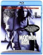Blu Ray MAXIMUM RISK - (1997) - *** Jean-Claude Van Damme ***   ......NUOVO