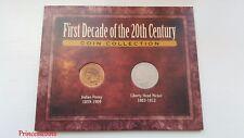Primera década del siglo 20TH Colección de monedas