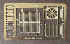 ETCHED DETAIL SET FOR ATLAS MP15DC HO SCALE KV MODELS