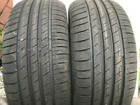2 X NEW 225 50 17 GOODYEAR EFFICIENT GRIP PERFORMANCE 225/50 R17 98V EXTRA LOAD
