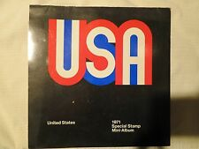 US USPS 1971 Special Stamp Mini-album Great Condition