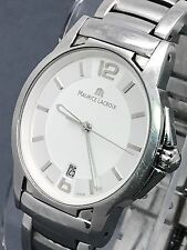 Maurice Lacroix Miros Men's Watch SS MI1056 Swiss Quartz 100M Used (N1088)