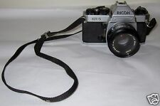 RICOH KR-5 CAMERA WITH RICONAR 1:2.2 55mm LENS AND QUARRY OPTICS SKY FILTER