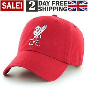 Official Liverpool FC Red Team Baseball Cap LFC Football Premium One Size