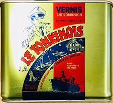 (21,00 €/L) Le Tonkinois Bootslack  Leinöl-Lack Parkettlack Bio-Lack Top-Angebot