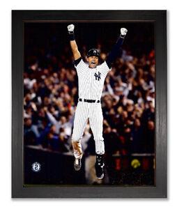 NY Yankees Derek Jeter Last Game 8x10 Framed Photo