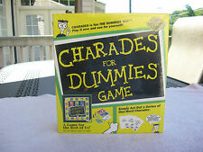 Charades for Dummies Game~A Game For The Rest Of Us~New & Factory Sealed!