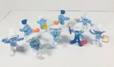 Vintage Lot Of 9 McDonald's Smurf's Characters