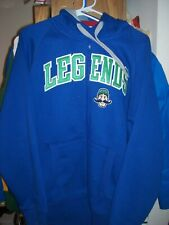 Lexington Legends Logo Men's Full Zip Hoodie Sweatshirt ~ Size M ~ Excellent