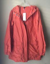 Eileen Fisher Tiger Organic Cotton Nylon Hooded Anorak Jacket Petite PP
