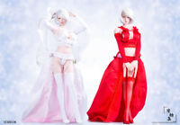 In-Stock Manmodel 1/6 Scale  figure MM018 flower Wedding Dress 12IN Clothes Set