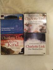 Hörbücher Charlotte Link: Das andere Kind, Die Täuschung, Der Beobachter, ...