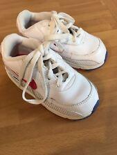 Niño o niña Nike Air Max Zapatillas Talla 6.5 Blanco Rojo Recortar
