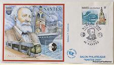 FRANCE NANTES  BLOC FEUILLET CNEP SUR LETTRE    N° 38 FDC