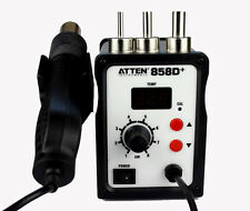 ATTEN AT858D+ Hot Air Gun Soldering Rework Station 220V New Y