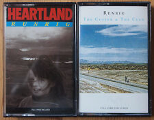 2x RUNRIG CASSETTE TAPES LOT - HEARTLAND / THE CUTTER - EX. COND. CELTIC FOLK