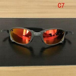 X-Metal Juliet Cyclops Sunglasses Ruby Polarized Lenses TITANIUM Cycling Goggles