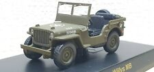 1/64 Kyosho JEEP WILLY'S MB ARMY GREEN diecast car model