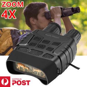 """IR Night Vision Binoculars Hunting Wildlife 2.3"""" Screen 720P Photos Video Camera"""