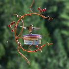 Red Berries Hummingbird Feeder Outdoor Hanging Garden Window Bird Feeder Tool