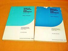 davi thomson breve storia del mondo 1914-1961 2 voll completo aggiornato 1967