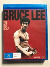 The Big Boss - Bruce Lee (Blu-ray, 2016) Region B- NEW & SEALED