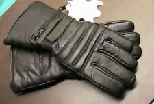 Motorcycle Leather Glove sz Large