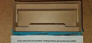 "Athearn Auto boxcar and 50' box car laser cut Box Insert 7.5"" Blue or yellow Box"