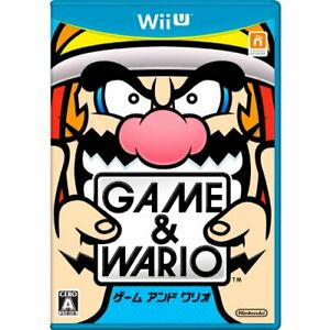 Game & Wario - Wii U with Tracking number New from Japan