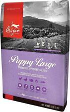 Orijen Large Breed Puppy Low Ash Grain Free 80% Meats  Dry Dog Food 13 lb