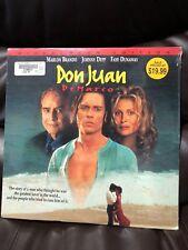 """Don Juan DeMarco 12"""" LaserDisc"""