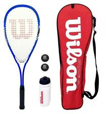 Wilson Blue Squash Starter Set includes Balls & Waterbottle RRP £80