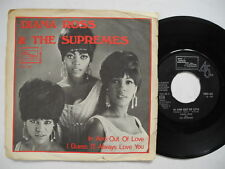 """DIANA ROSS & SUPREMES In And Out Of Love / I Guess I'll... 45 7"""" 1968 Sweden"""