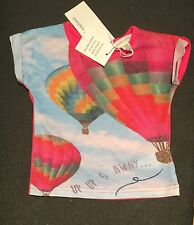 NEW Pumpkin Patch Baby Girl Pink T-shirt Size 000 0-3 Months RRP$19.99 50% OFF!