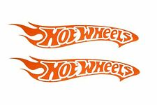 2x Hotwheels Etiqueta Engomada De La Etiqueta Del Coche Logo mercedes smart