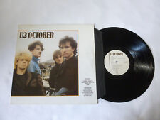 U2 ~ OCTOBER ~ NrM/EX ~ ISLAND RECORDS UK CLASSIC ROCK VINYL LP ~ GREAT AUDIO