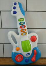 Super Fun Kids Baby Electric Play Toy Guitar Child's Star Music Game Chicco 12m+