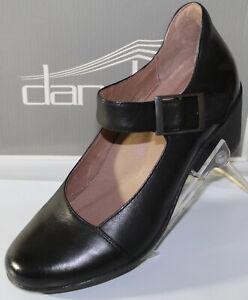 Dansko Roxanne Black Burnished Nubuck Women's Shoes, Black