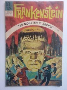 Dell Comics Frankenstein #1 (1964) Rare 2nd Printing- Fine