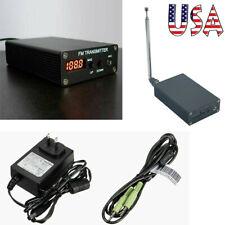 1MW Stereo Digital FM Transmitter FM Radio Transmitter Mini FM Radio Station USA