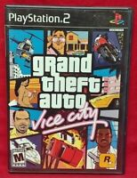 GTA Grand Theft Auto Vice City  Playstation 2 PS2 Game Complete Tested & Working