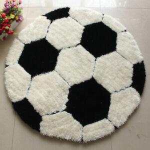 Kids Rug Sports Ball Round Rug 32'' Carpet Floor Chair Mat Kids Children's Rooms