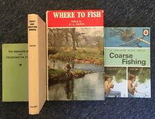 Fishing Book Collection x 4 titles, Job Lot, Classics Ladybird, Observer Guides