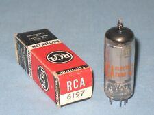 VACUUM TUBE ~ 6197 ~ RCA ~ NOS ~ 6197