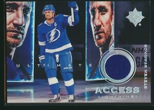 2019-20 Upper Deck Ultimate Collection Access Jersey Relic Steven Stamkos