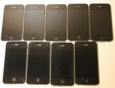 Apple iPhone 4 and 4s - full working condition is unknown - USED (lot of 9)
