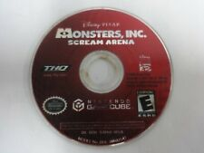 Monsters Inc. Scream Arena Nintendo Gamecube Disc Only Free Ship