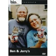 Biography BEN & and JERRY'S (DVD) AE A&E bio the history channel THC SEALED NEW