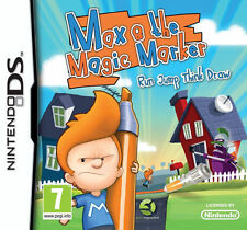 Max & the Magic Marker  (Nintendo DS, 2011) NEW - FREE SHIPPING